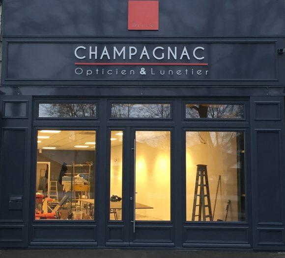 photo-réalisation-chantier-menuiserie-champagnac-opticien-lunetier-garrat-menuiserie